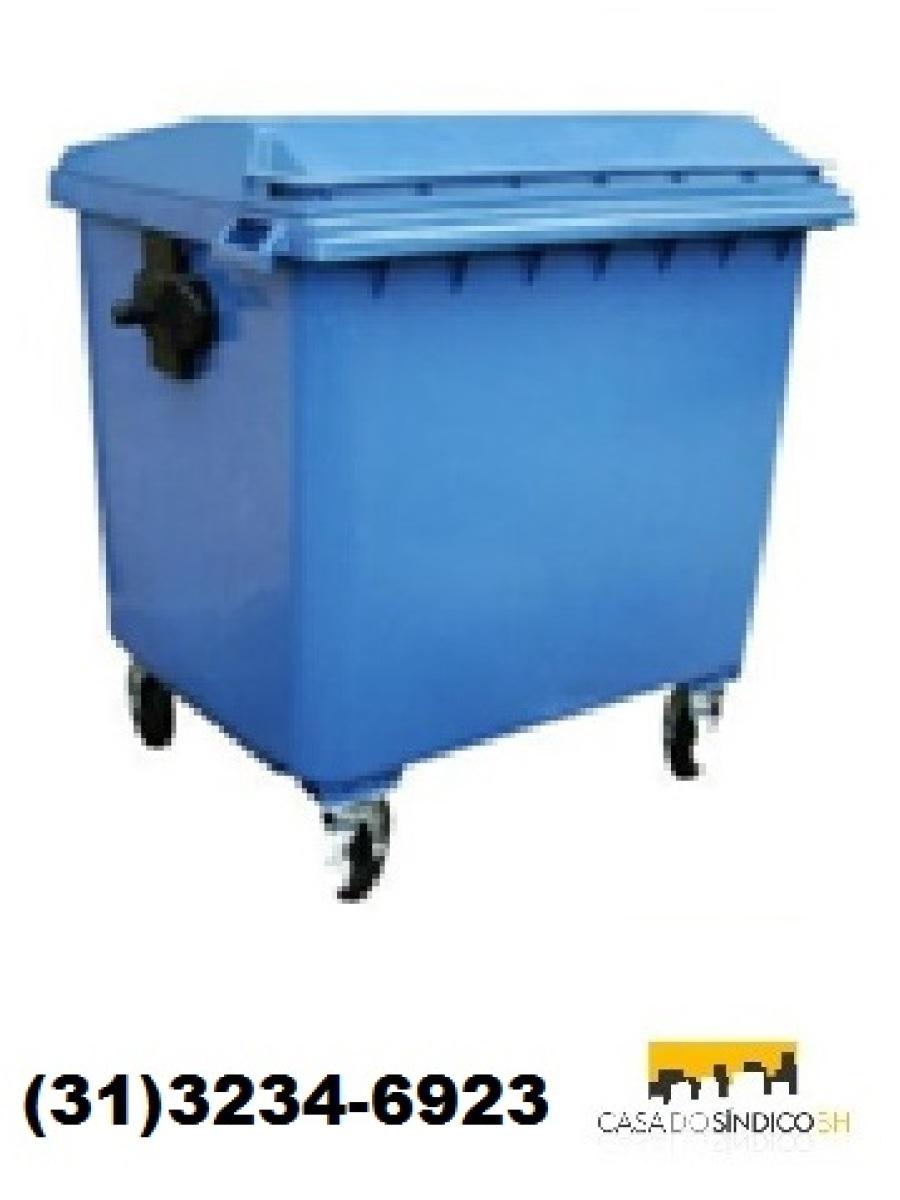 Carrinho para lixo 1000 litros