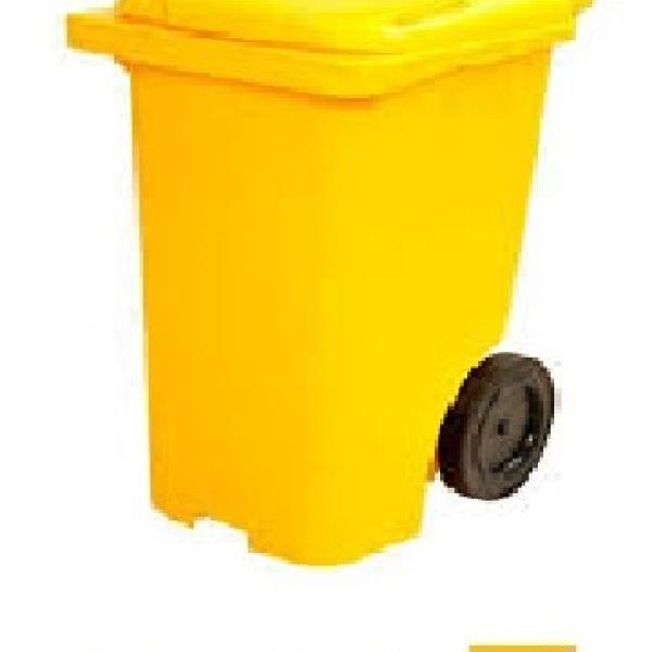 Carrinho para lixo 120 litros