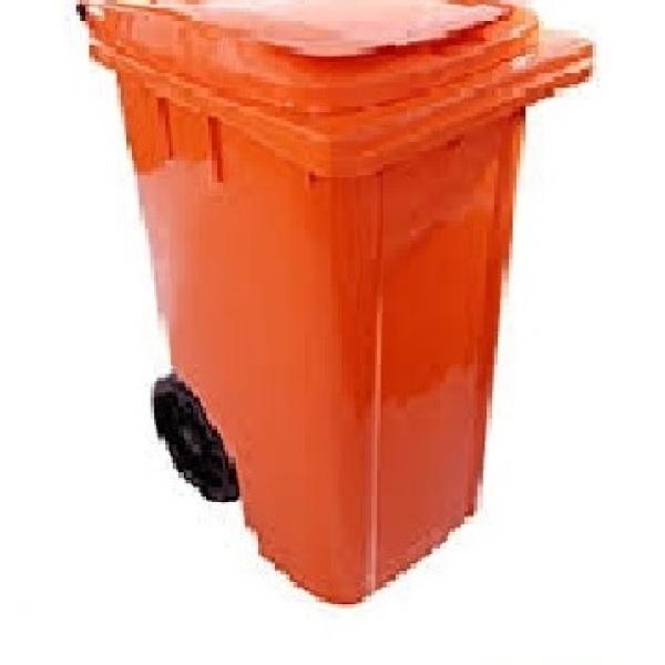 Carrinho para lixo 240 litros