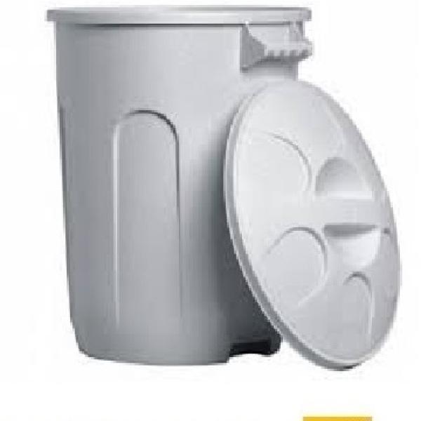 Lixeira plástica com tampa 10 litros