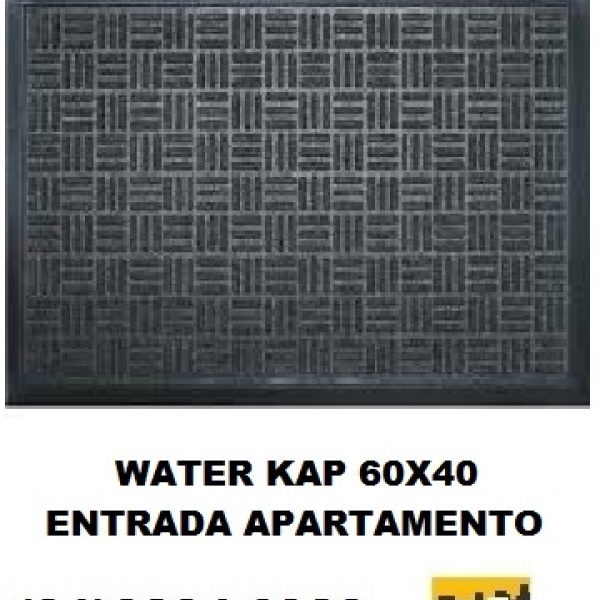 Tapete Waterkap para entrada apartamentos