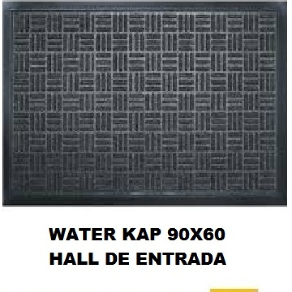 Tapete Waterkap para entrada do condomínio