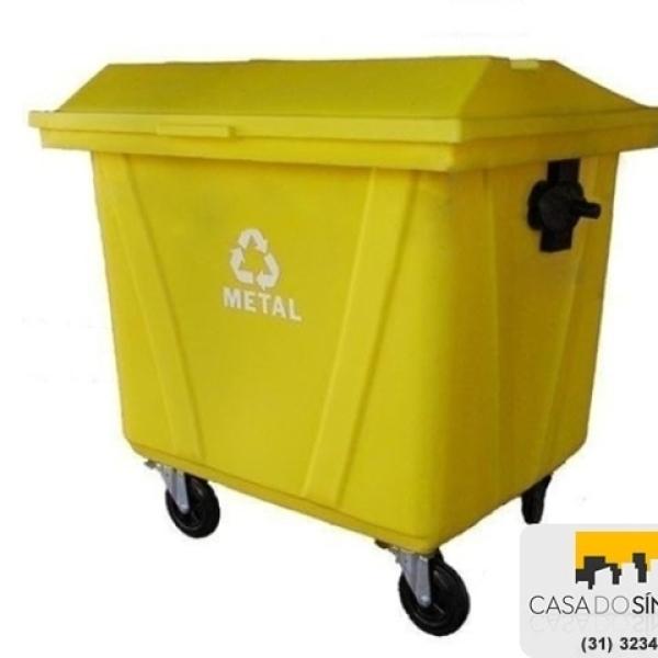 Carrinho para lixo 700 litros